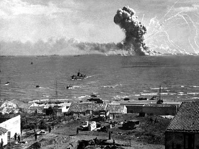 รูปสมัยสงครามโลกครังที่ 2 หาดูยากมาก