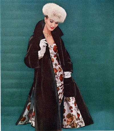 1956 - Model Evelyn Tripp