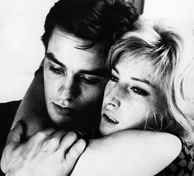 Monica Vitti and Alain Delon in 'The Eclipse ' (1962)