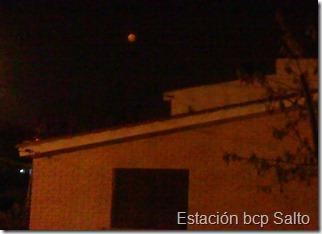 Humo de Bolivia deja Rojiza la luna (23/8/10)