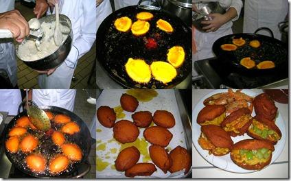 Passo a passo do preparo do acarajé
