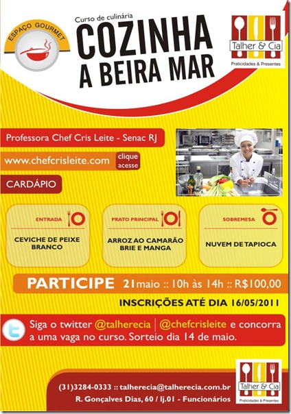 Cozinha a Beira Mar em BH