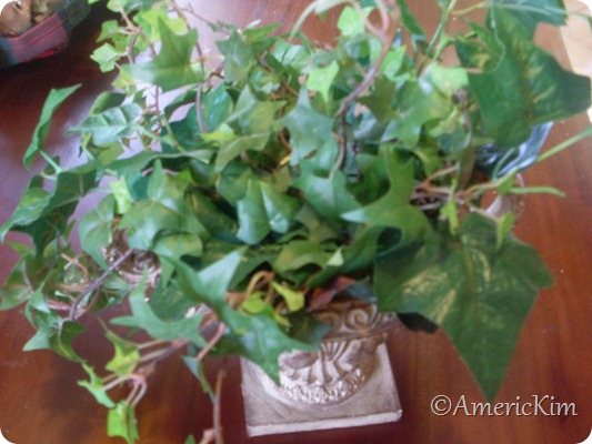 Christmas Silk Flower Arrangement-4