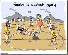 funny football first invention