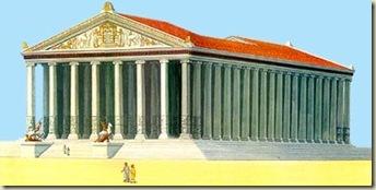 Le temple d'Artemis