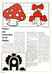 mushroom pattern page 2