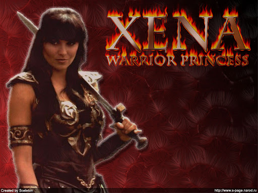 Superhero Wallpapers-Xena 1
