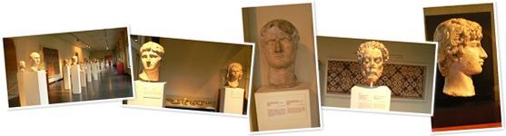 Ver Bustos romanos en Museo del Cincuentenario