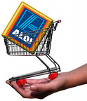 Logo aldi trolleyed