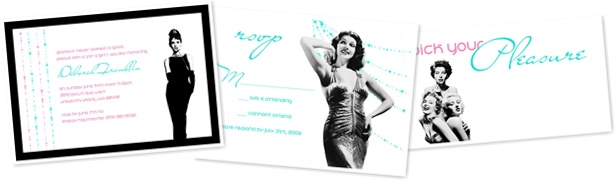 View Old Hollywood Glam stationery