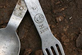 Немецкая ложка, найдена ок. 15-и лет назад в р-не нынешнего незаконного строительства