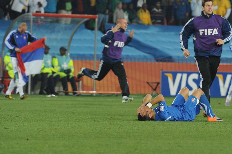 sconfitta italia slovacchia 2010