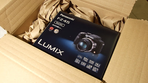 panasonic lumix fz45 bridge digital camera
