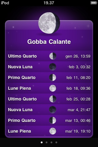 moon phases app iphone ipod touch ipad