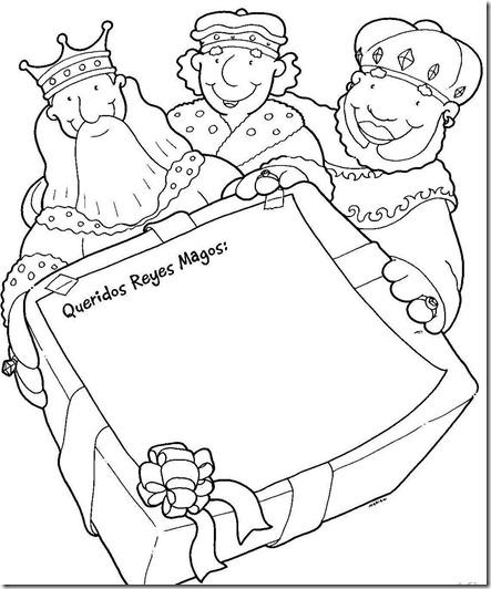 Dibujos-para-colorear-de-Reyes-Magos9