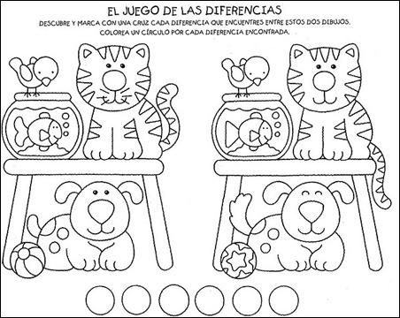ejercicios infantil: