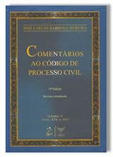 Comentários ao Código de Processo Civil. Barbosa Moreira.