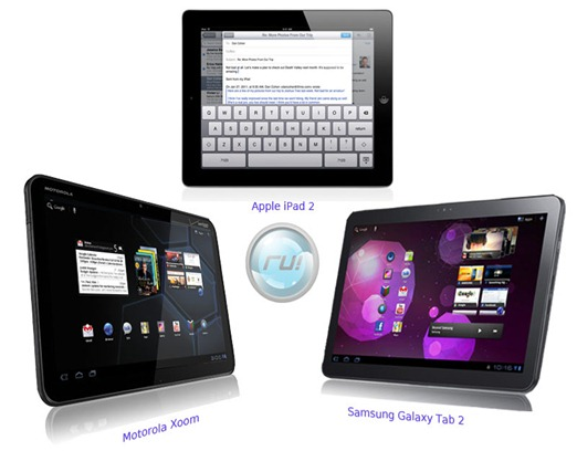 ipad 2 vs motorola xoom vs galaxy tab 2