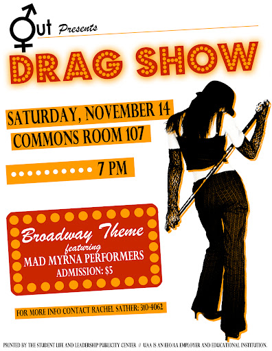 Out DragShow Genres: Bi sexual MMF