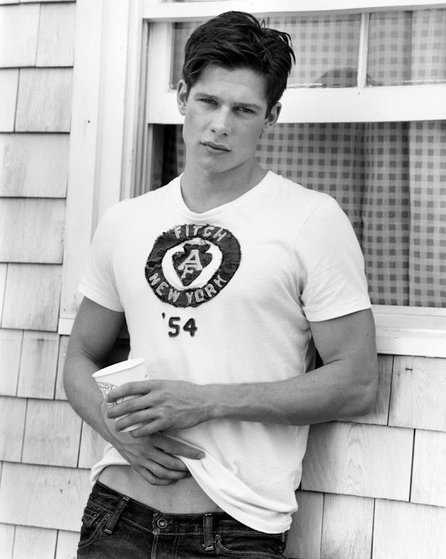 Stefan Podany by Bruce Weber for Abercrombie & Fitch