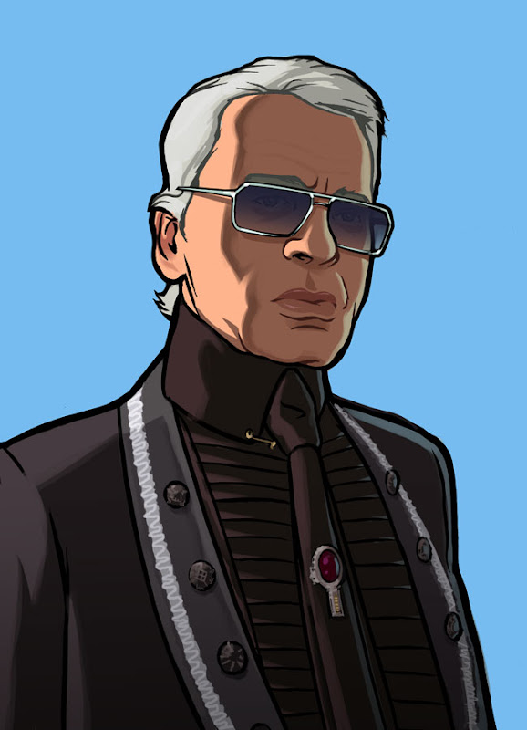 Karl Lagerfeld by Rockstar Games