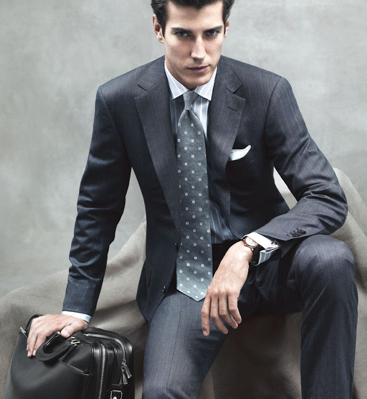 VGL | Oriol Elcacho for Zegna S/S 2010