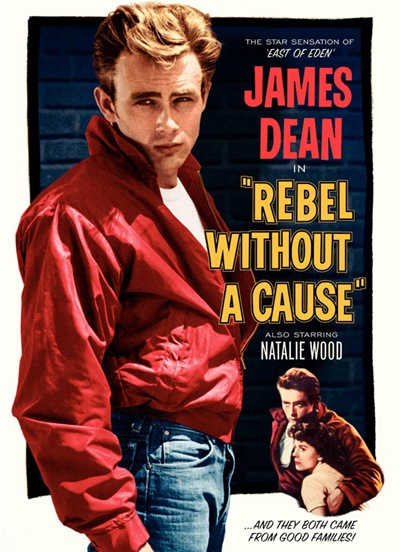 "VGL | One Sheet for ""Rebel Without a Cause"" 1955"