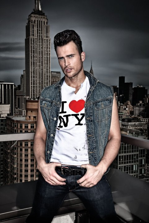 Cheyenne Jackson by Mike Ruiz for FAB, 2010