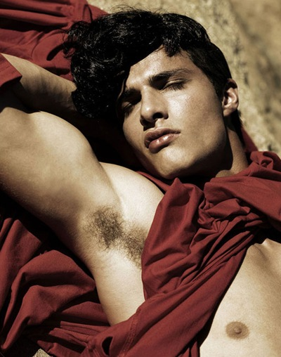 VGLMen.com | Leandro Maeder by Yu Tsai for We Men, 2008