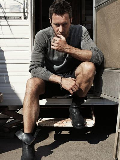 Alex O'Loughlin by Robbie Fimmano for GQ Style AU, F/W 2011