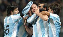 francia 0 - argentina 2