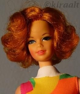 Mattel Barbie doll Stacey TNT Twist n Turn 1960s