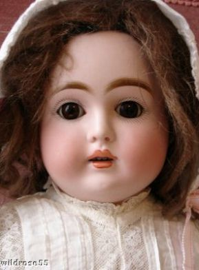 Antique bisque Kestner turned shoulder head doll