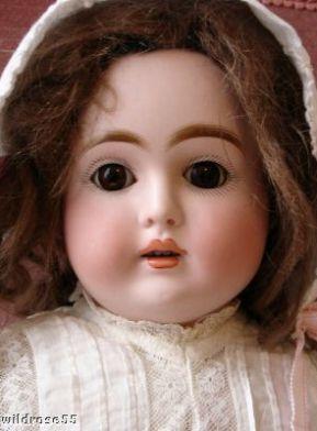 Antique bisque Kestner turned shoulder head doll