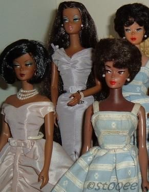 Mattel Barbie Silkstone Robert Best 45th Anniversary Sunday Best Lingerie #5 Blush Becomes Her Suburban Shopper black African-American