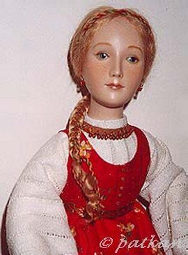 Alexandra Koukinova doll Marysya modern porcelain artist