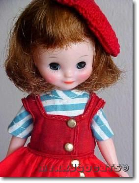 Betsy McCall 8-inch doll American Character tosca hair Co-ed 1950s