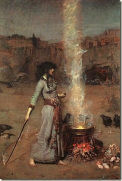 403px-John_William_Waterhouse_-_Magic_Circle