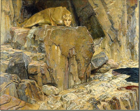 The_Sphinx_(1907),_painting_by_Georg_von_Rosen_(1843-1923)