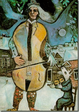 chagall the cellist