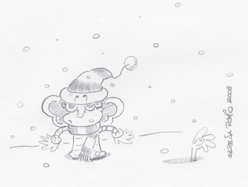 Crazy snow