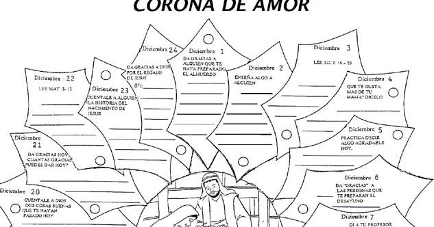 ADVIENTO Y NAVIDAD: Adviento: Corona de Amor