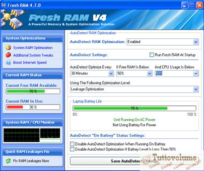 Fresh RAM