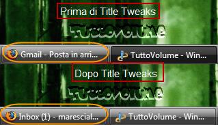Title Tweaks Gmail