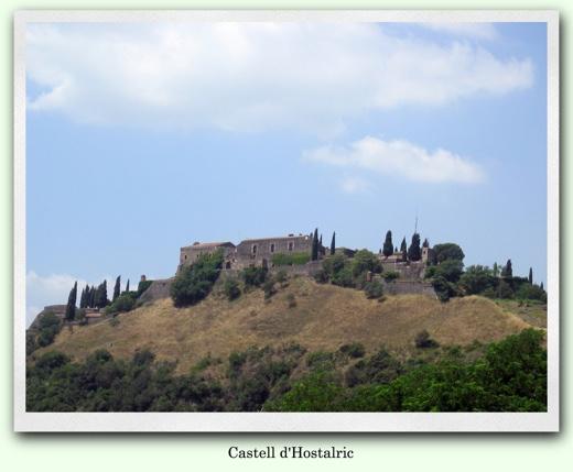 Fotografia del Castell d'Hostalric