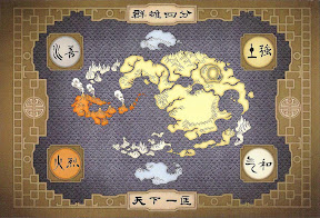Mapa del Mundo Avatar