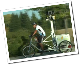 Can't get there with the Google Car? Try the Google Trike!