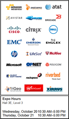 In NYC October 17 or 18th? Check out the INTEROP Expo for free.