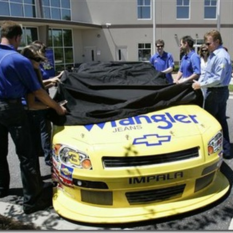 Dale Earnhardt Jr. to Drive No. 3 Wrangler Chevy in July NNS Race at Daytona
