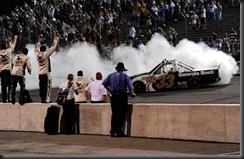2010 OReilly Raceway NCWTS Ron Hornaday burnout